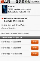 Fandango Movies Showtimes for Buying