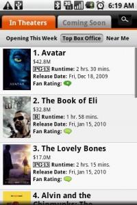 Fandango Movies Top Box Office