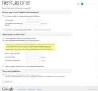 Google Nexus One Woes for Existing T-Mobile Customers