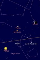 Google Sky Map East