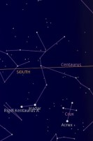 Google Sky Map South