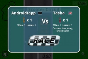 Head To Head Racing in Game Play 3