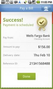 Pageonce - Money & Bills Pay a Bill