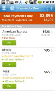 Pageonce - Money & Bills Payments Due