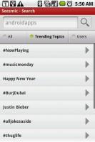Seesmic Twitter App Trending Topics