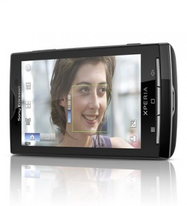 Sony Ericsson Xperia X10 Face Detection Software
