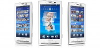 Sony Ericsson Xperia X10 in White