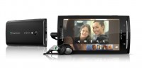 Sony Ericsson Xperia X10 in Black Horizontal