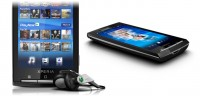 Sony Ericsson Xperia X10 in Black with Accessories