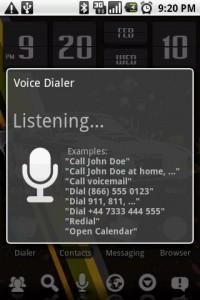Home++ Voice Dialer
