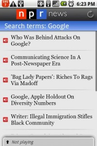 NPR News Search Results