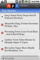 NPR News Top Stories