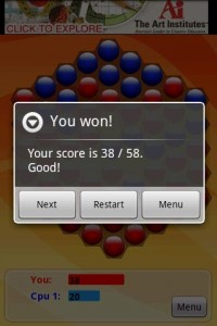 Pobs Game Won