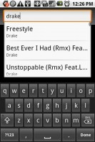 Rockon Music Player Search Your Music