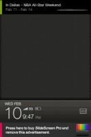 SlideScreen-Calendar