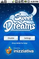 Sweet Dreams Start Screen