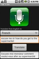 Talk to Me Translated