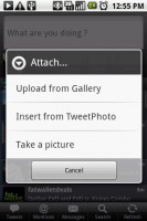 Touiteur Tweet Photo Attachment Options
