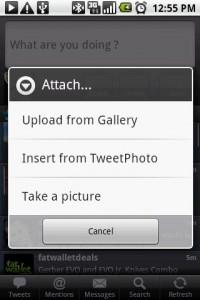 Touiteur Tweet Photo Attachment Options