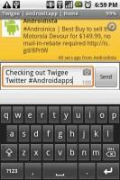 Twigee Tweeting
