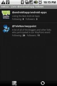 twicca Lists
