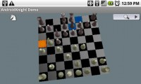 AndroidKnight 3D Chess in Game Play 1
