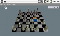 AndroidKnight 3D Chess in Game Play 2