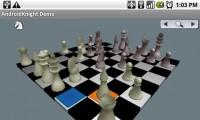 AndroidKnight 3D Chess in Game Play 3