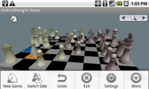 AndroidKnight 3D Chess in Game Play 4