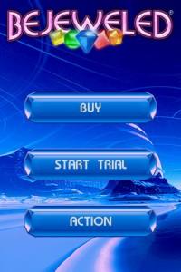 Bejeweled Start Screen