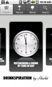 Drinkspiration by ABSOLUT Recommend by Time of Day