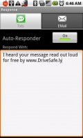 DriveSafe.ly SMS Text Message Auto-Responder