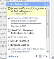 Gmail-Google Apps Tasks from Web