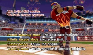 HOMERUN BATTLE 3D Intro Screen