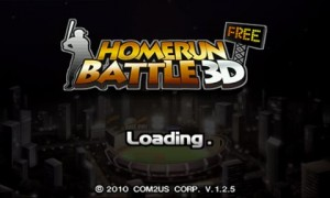 HOMERUN BATTLE 3D Loading Screen