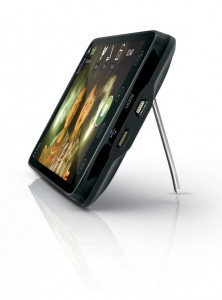 HTC EVO Playing QIK Video with Stand