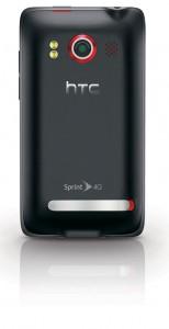 HTC Evo Back View