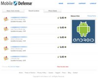 Mobile Defense Online Location Details