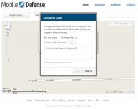 Mobile Defense Online Send Alerts to Phone