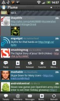 Plume for Twitter Tweet Options
