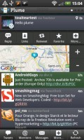 Plume for Twitter Tweet Options such as Google Maps