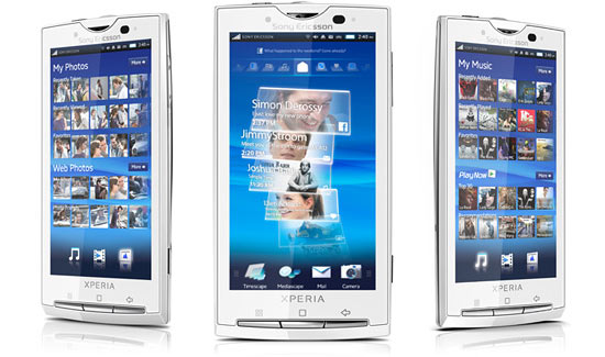 Sony Ericsson Xperia X10 Video Demo