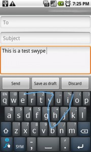 Swype Keyboard Writing 2
