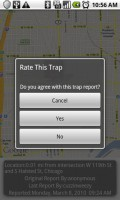 Trapster Rate Trap Report