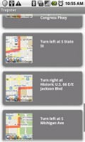 Trapster Routing Directions