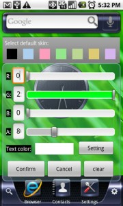 iHome Home Replacement Color Skin Settings