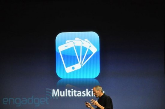 Apple Steps Up Game: Adds Multi-Tasking to iPhone