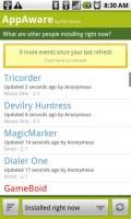AppAware Recent Activity