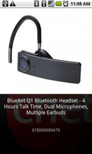 CNET Scan & Shop Scanned Product Details