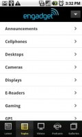Engadget Topics